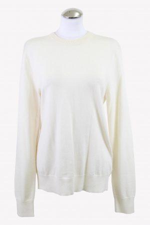Filippa K Pullover in Creme aus Wolle aus Wolle Alle Jahreszeiten.1