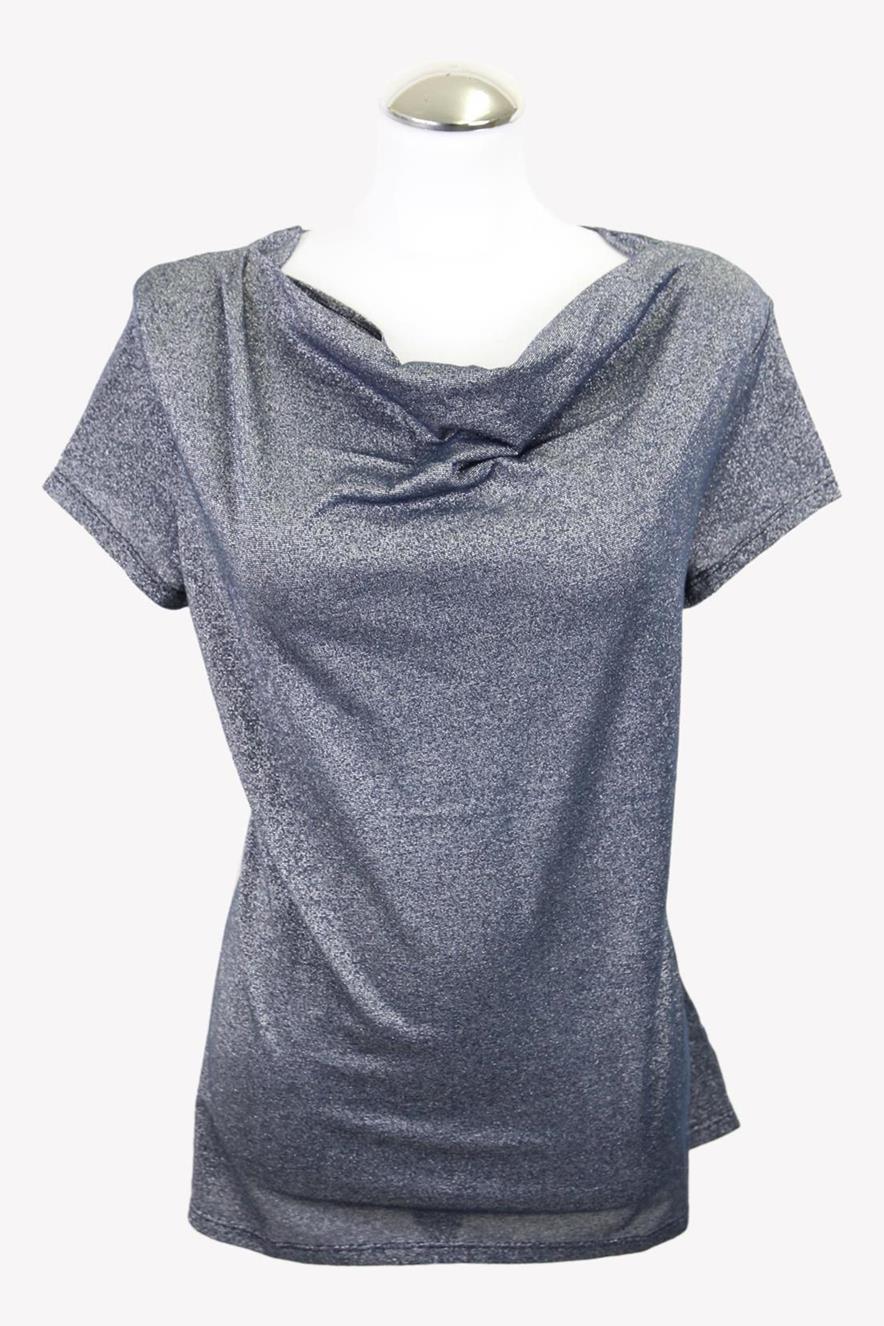 Stefanel T-Shirt in Multicolor aus Baumwolle aus Baumwolle Alle Jahreszeiten.1