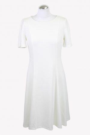 DKNY Etuikleid in Weiß aus Polyester Alle Jahreszeiten.1
