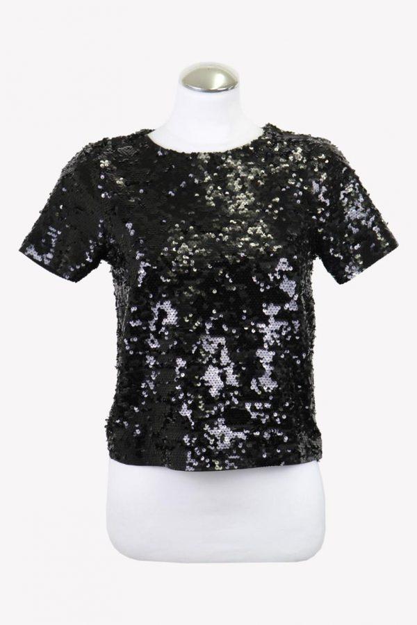 Michael Kors T-Shirt in Schwarz aus Polyester Alle Jahreszeiten.1