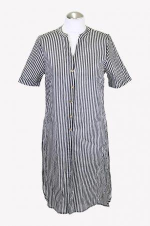 Michael Kors Badekleid in Schwarz / Weiß aus Baumwolle aus Baumwolle Frühjahr / Sommer.1