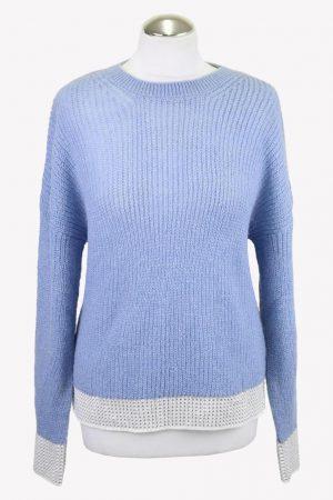 Rich & Royal Pullover in Blau aus Polyamid Herbst / Winter.1