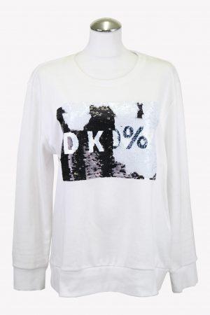 DKNY Pullover in Weiß aus Baumwolle aus Baumwolle Alle Jahreszeiten.1