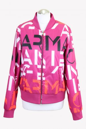 Armani Bomberjacke in Rosa aus Polyester Herbst / Winter.1