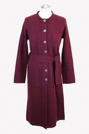 Stefanel Pullover in Bordeaux aus Wolle aus Wolle Herbst / Winter.1