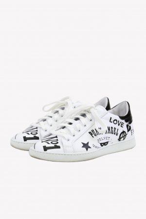 John Richmond Sneaker in Weiß aus Leder aus Leder .1
