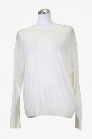 Pullover in Creme aus Wolle Iro