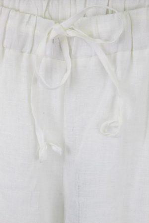 Stoffhose in Weiß Trussardi