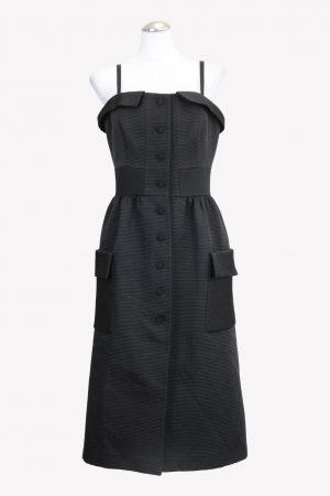 Ted Baker Trägerkleid in Schwarz aus Polyester Alle Jahreszeiten.1