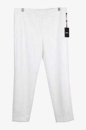 DKNY Stoffhose in Weiß aus Polyester Alle Jahreszeiten.1
