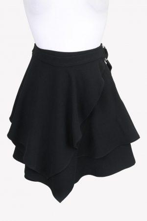 Iro Minirock in Schwarz aus Polyester Alle Jahreszeiten.1
