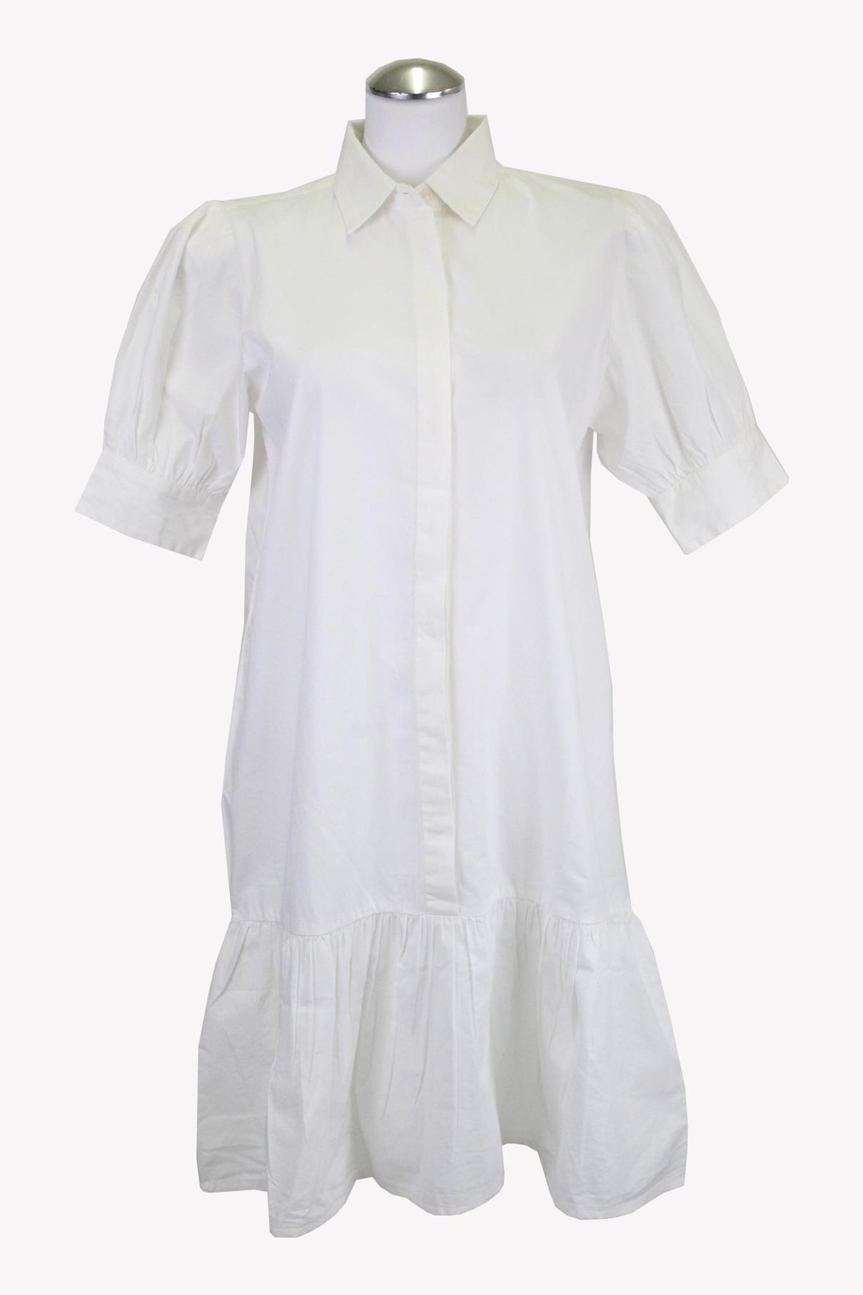 Bruuns Bazaar Shiftkleid in Weiß aus Baumwolle aus Baumwolle Alle Jahreszeiten.1