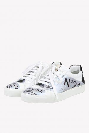 No. 21 Sneaker in Multicolor aus Leder.1