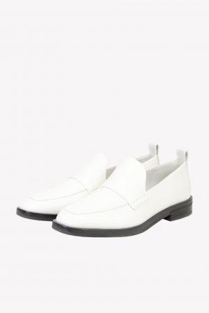 3.1 Phillip Lim Loafers in Weiß aus Leder.1