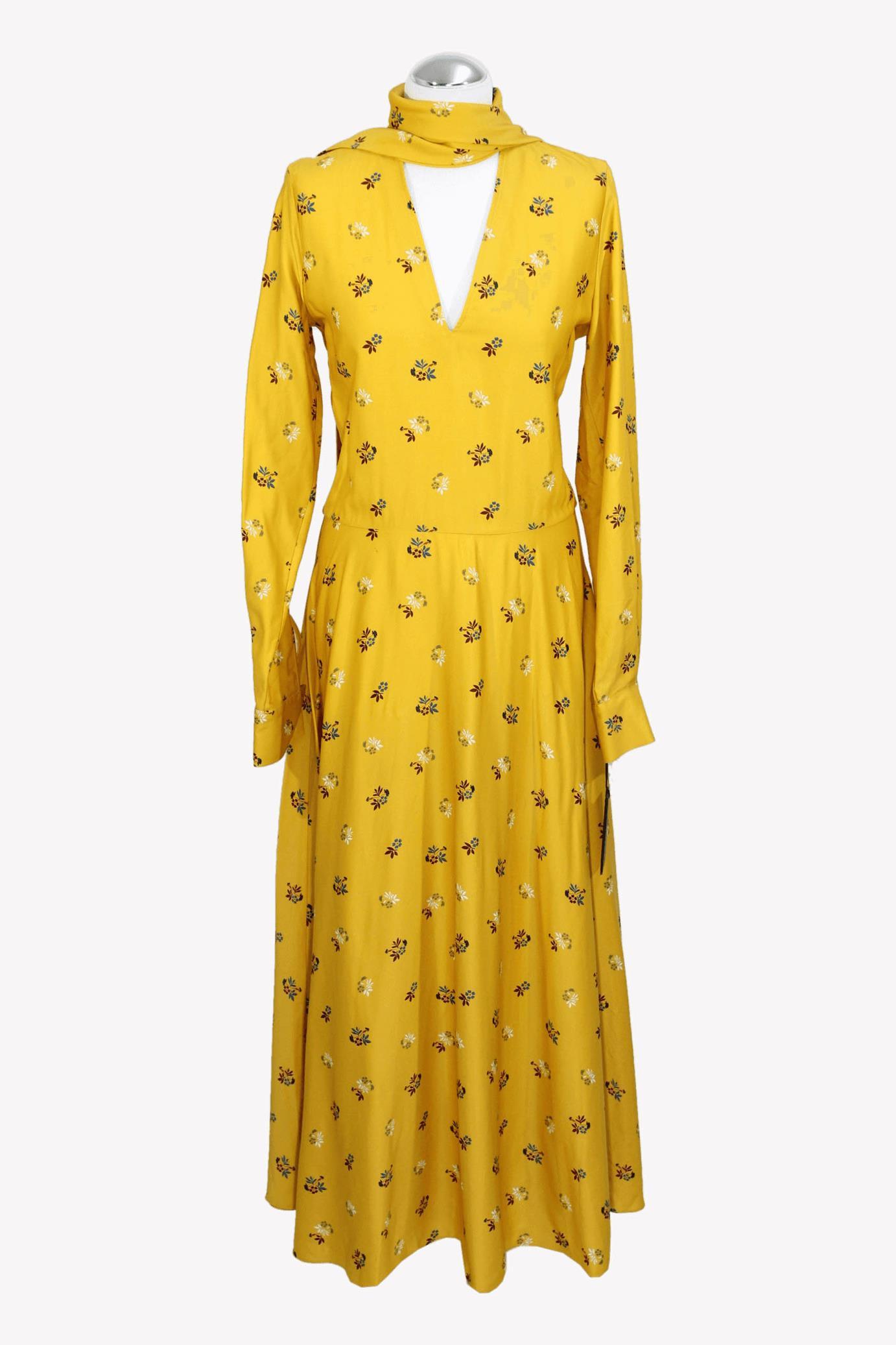 Mulberry Kleid in Gelb aus AG10434 AG10434.1