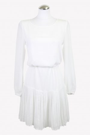Patrizia Pepe Kleid in Weiß aus AG13131 AG13131.1