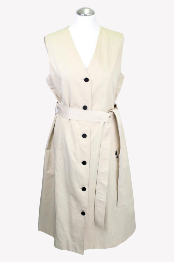 Karl Lagerfeld Kleid in Beige aus Baumwolle aus AG14050 AG14050.1