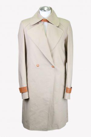 Trussardi Jacke in Beige aus Baumwolle aus AG14179 AG14179.1