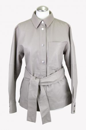 In Wear Jacke in Grau aus Leder aus AG14185 AG14185.1