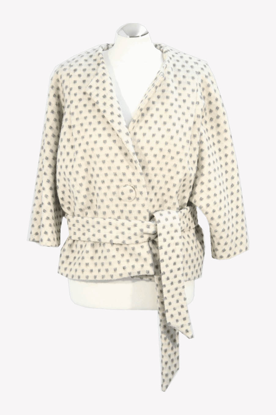 French Connection Jacke in Creme aus Wolle aus AG4152 AG4152.1
