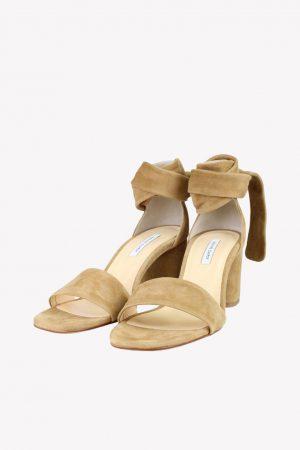 Fabienne Chapot Sandalen in Braun aus Leder.1