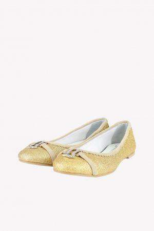 Galliano Ballerina in Gold.1