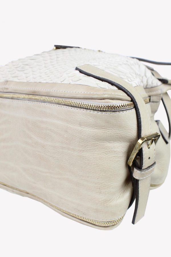 Schultertasche in Beige aus Leder Chloé