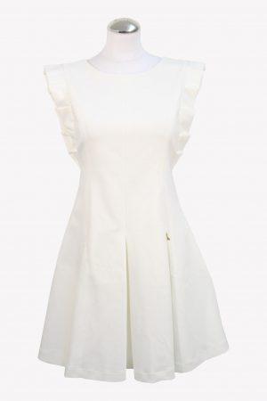 Patrizia Pepe Kleid in Weiß aus Baumwolle aus AG12773 AG12773.1