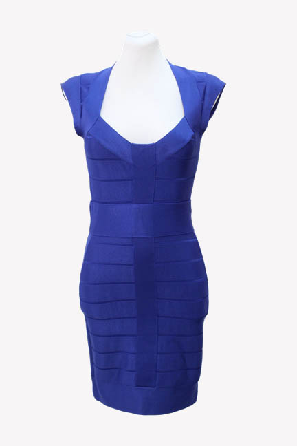 French Connection Kleid in Blau aus AG9119 AG9119.1