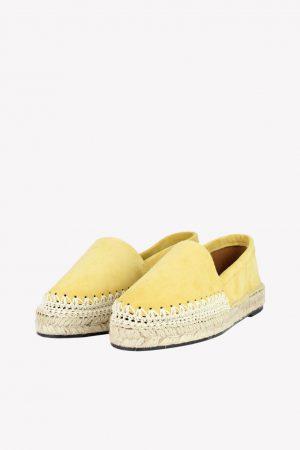 Toral Loafers in Gelb aus Leder.1