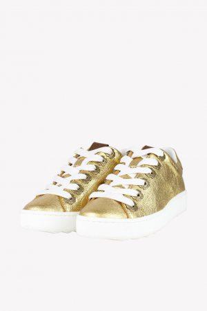 Coach Sneaker in Gold.1
