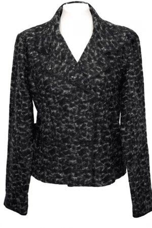 Olsen Jacke in Grau aus Wolle .1